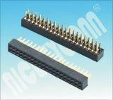 PH: 1,27 H: 4.3 mm U Linhas duplas tipo fêmea do conector da plataforma Plataforma Fêmea DIP