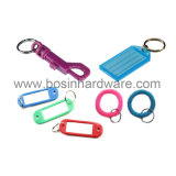 Farbiges Belüftung-überzogenes Edelstahl-Seil Keychain