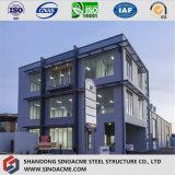 Edificio residenziale strutturale d'acciaio prefabbricato diplomato lunga vita