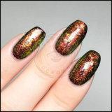 Folha de acrílico Galaxy Decoração de unhas Lantejoulas Chameleon Flake reluz