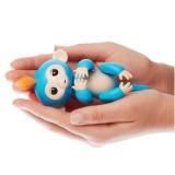 가장 새로운 장난감 대화식 파란 핑거 아기 원숭이 작은 물고기