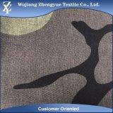 100d+40d Melange van Spandex van de polyester de Camouflage Afgedrukte Stof van de Rek voor de Borrels van de Raad