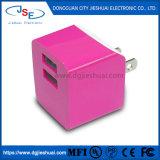 Carregador rápido de porta dupla Plug Cube para iPhone 7/6s/6s Plus / 6 Plus/6/5s/5, Samsung Galaxy S7/S6/S5 Edge, LG, HTC, Huawei