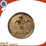 Monedas de encargo del desafío de las monedas del recuerdo del oro de moneda del metal de la alta calidad