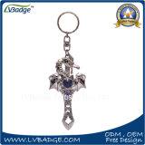 Кольцо изготовленный на заказ печати металла подарка сувенира промотирования ключевое