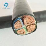 Cabo do cobre da baixa tensão/o de alumínio do condutor XLPE no cabo distribuidor de corrente