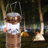 Solar- und nachladbares kampierendes Laterne-Zelt-Licht