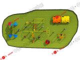 Игровая площадка на улице Парк Развлечений объекта и сдвиньте поворотного механизма (HD14-134B)