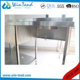 Bassin de compartiment de cuisine d'acier inoxydable d'usine à vendre
