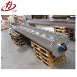 Transporte de parafuso material novo do pó do alimento do aço inoxidável do projeto