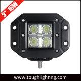 12 볼트 5 Inch Square 16W 크리 말 Flush Mount LED Cube Work Lamp