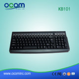 Kb101 POS 101 teclas teclado Teclado programable con lector de tarjetas