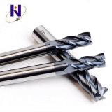 Профессиональные производители твердых карбид кремния 4 ребра конец мельницы для SUS с высоким качеством