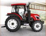 trattore agricolo di 130HP Cina con la carrozza di lusso