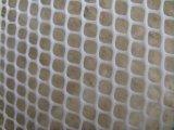 Engranzamento de fio tecido plástico da cor verde para aves domésticas