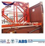 Le port d'utiliser l'épandeur de levage des conteneurs semi-automatique