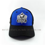 Curva de malla transpirable ala gorra de béisbol con bordados de alta calidad