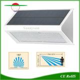 レーダーLEDセンサーの太陽庭の壁ライト太陽機密保護ランプ