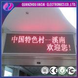 P10 visualizzazione di messaggio corrente rossa di colore LED