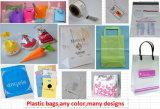 Poly-sac de chaîne de caractères, sacs de corde, plastique avec les sacs de chaîne de caractères (HF-17103101)