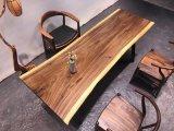 De Stevige Houten Koffietafel van de okkernoot, de Lijst van het Restaurant van de Eettafel van de Stoel