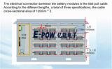 Titanato de lítio Bateria Agv, Rtg, máquinas de pórtico,