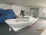 Liya 25feetのガラス繊維の漁船のカタマランの客船