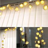 los 2m 20 luces de hadas de la flor de la luz de la batería del LED Rose
