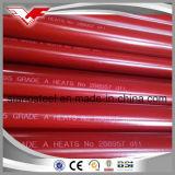 ASTM A795 Gr. Um/ASTM A53 gr. B com a norma UL/tubo de incêndio certificado por FM/ Tubo de Sprinklers Automáticos de Incêndio/ o combate ao fogo material da tubulação de hidrantes de incêndio/Tubo Suporte/Tubo resistente ao fogo