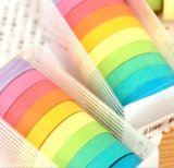 Erreur de bonbons cadeaux de papeterie de bandes de couleur et de Rainbow bande de papier