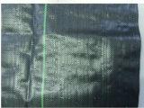 Colore del nero del geotessuto tessuto pp con la Linea Verde per agricoltura e costruzione