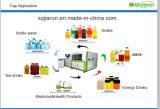 Mineralwasser-Flaschenkapsel, die Maschine herstellt