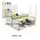 나무로 되는 사무용 가구 모듈 사무실 분할 책상 Yf-G0301