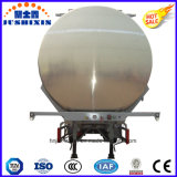 Tri del árbol 42000L de aluminio de la aleación del combustible del petrolero acoplado semi