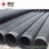 Drain spiralé chaud d'enroulement de pipe de Krah de HDPE de pipe de PE de drain