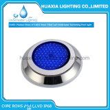 Llenos de resina de acero inoxidable 316 de la luz de la piscina LED Lámpara de exterior bajo el agua