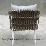 2018 новый дизайн ремень плетение обеденный комплект садовой мебелью