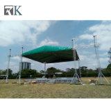 屋外コンサートのための屋根のトラスが付いているRkの調節可能なアルミニウム段階