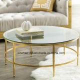 둥근 유리제 커피용 탁자 (xz-021) 작은 둥근 크기 커피용 탁자