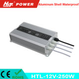 12V 20A 250W imperméabilisent le bloc d'alimentation IP65 IP67 de la commutation DEL