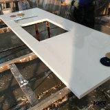 Ééndelige Countertop van het Kwarts van de Keuken van de Steen van de Melkweg van het Kristal Witte Marmeren