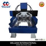실린더 조각 기계, 3D 회전하는 CNC 대패