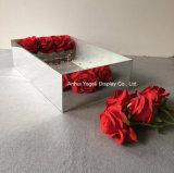 Flores de acrílico espejo de la fábrica de verificación de 9 a 16 25 36 rosas