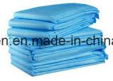 Incontinence médico folha descartável absorvente de Underpad/base/folha da tração para o hospital