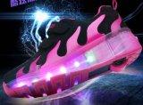 Chaussures de clignotement de rouleau de qualité avec le modèle automatique