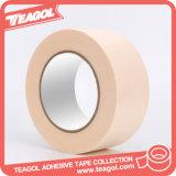 No impermeable Crepe papel cinta adhesiva de enmascarar, cinta de papel
