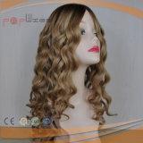 Parrucca superiore di seta delle donne dei capelli umani di Ombre (PPG-l-01780)