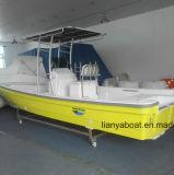Liya 25ft Fiberglas-Fischerbootpanga-Boot hergestellt in China
