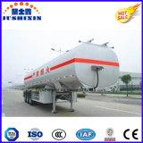 3半車軸炭素鋼45m3の燃料のタンカーのトレーラー