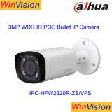 Dahua 3MP IRの弾丸のVarifocal Poe IPの監視カメラIpcHfw2320r Zs